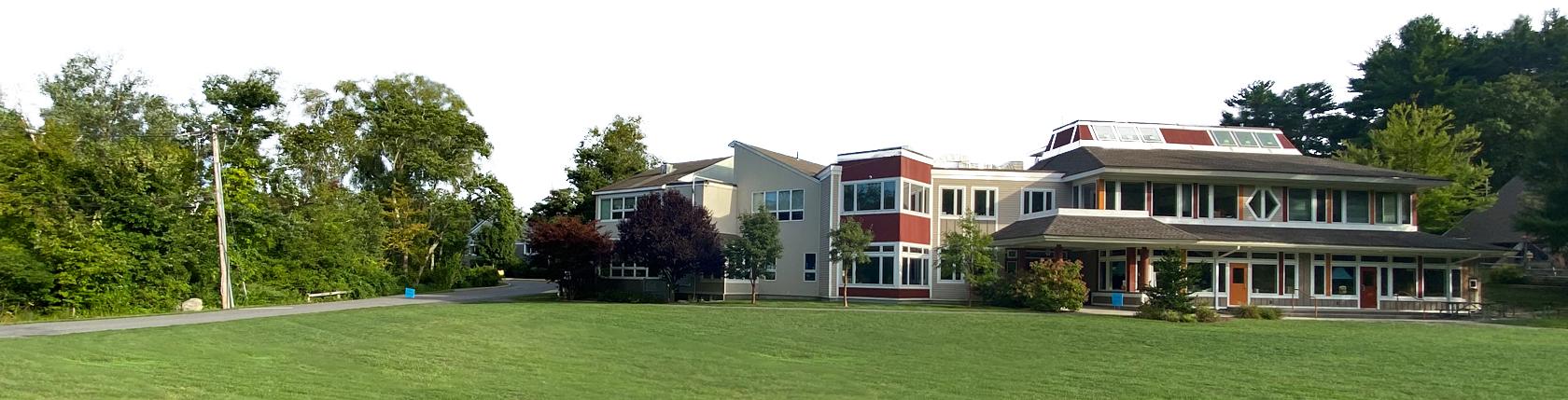Dedham School Exterior