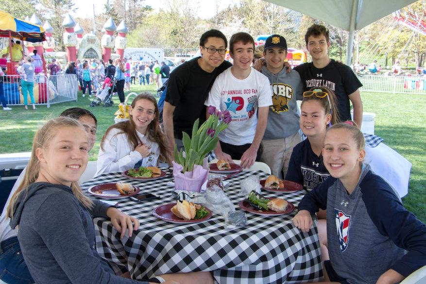 Alumni gather at DCD Fair